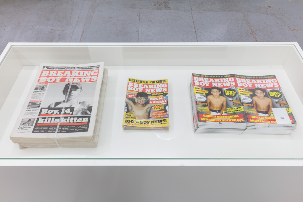 Karl Andersson, »Breaking Boy News«, 2011-2014, newspaper, magazine, book