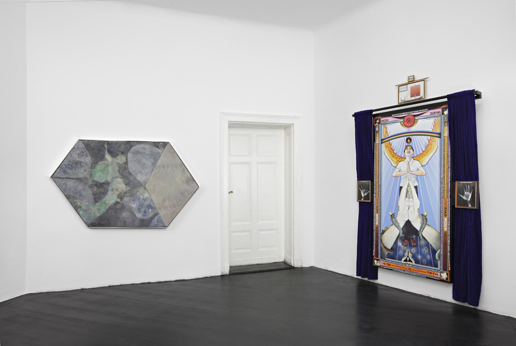 »INTERSTELLAR«, curated by Michael Bracewell, installation view, Galerie Isabella Bortolozzi, Berlin, 03.11.15–31.12.15