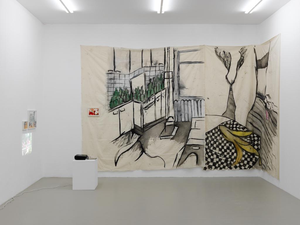 Installation view: »Transparencies«, Kunstverein Nürnberg – <br/>Albrecht Dürer Gesellschaft, 21.11.15—31.01.16