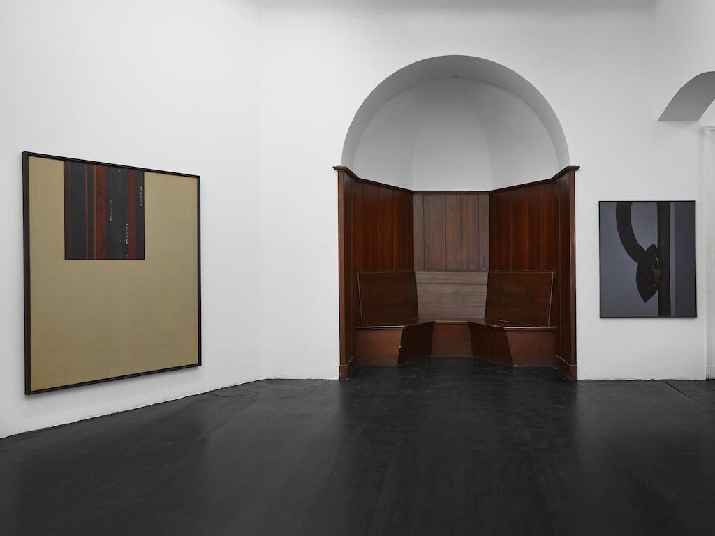 Carol Rama, »Ferite della memoria« - selected works, installation view, Galerie Isabella Bortolozzi, Berlin, 26.01.16-05.03.16<br/>