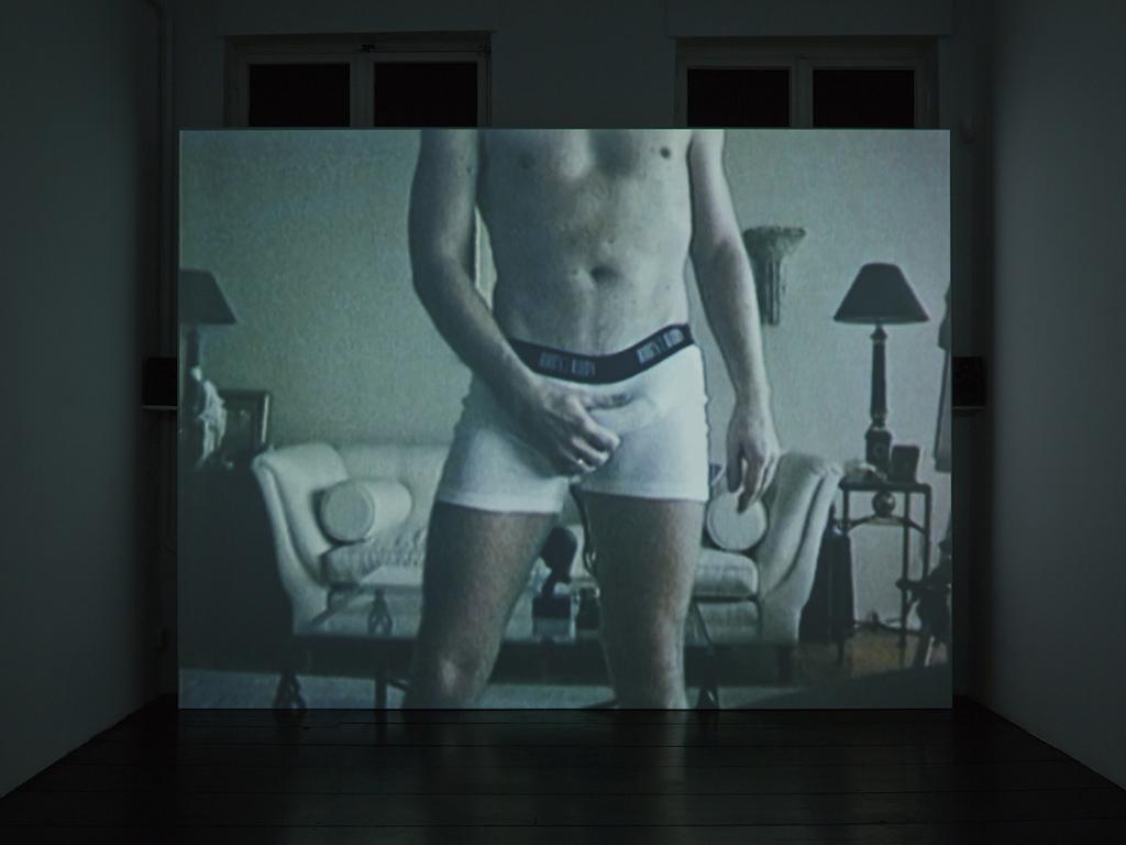 Steve Reinke, »Andy« (still from video), 1996, 9 min