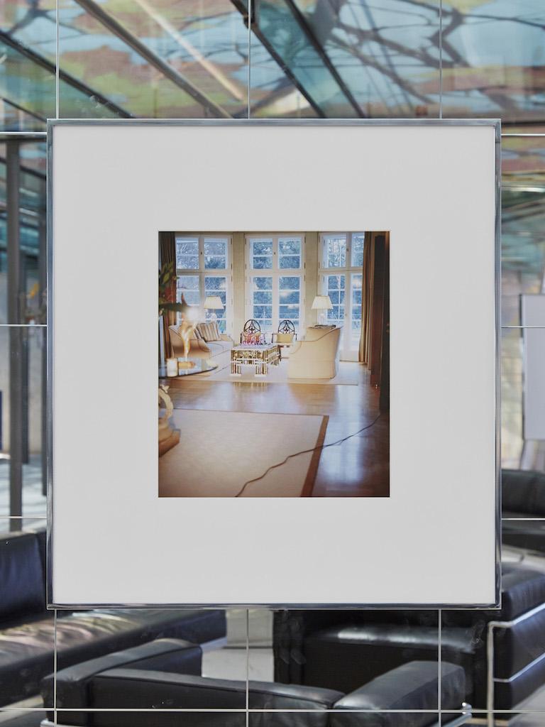 Calla Henkel & Max Pitegoff, »Interior 1«, 2016, archival inkjet print in aluminum frame, 77,5 x 72 cm