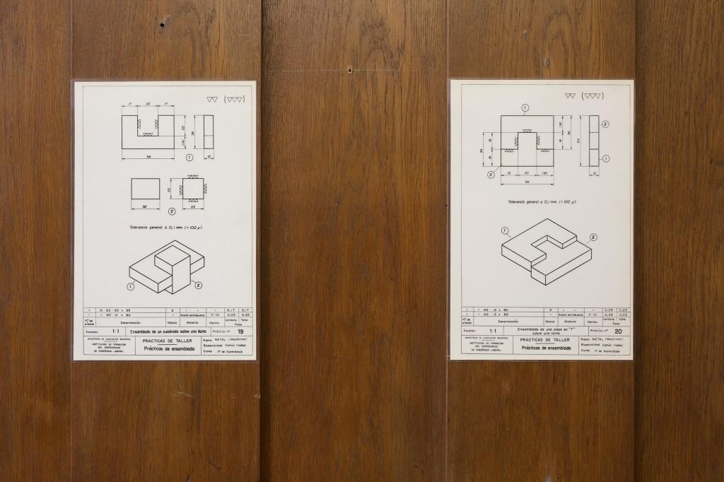 Detail view: Ibon Aranberri, Machine is a hand, steel elements, dimensions variable,2017,Unique, Photo: Thomas Bruns