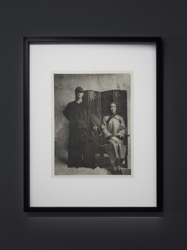 Installation view, '9th Berlin Biennale', KW Institute for Contemporary Art, Self Inscription, 2016, Photogravure on Kitakata chine collé mounted on Stonehenge paper, Photo: H Trumble