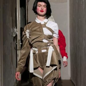 Symonds Pearmain, Haute Militaire, A/W 2017, Eden Eden, Berlin 28.04.17 Photo: Mark Blower