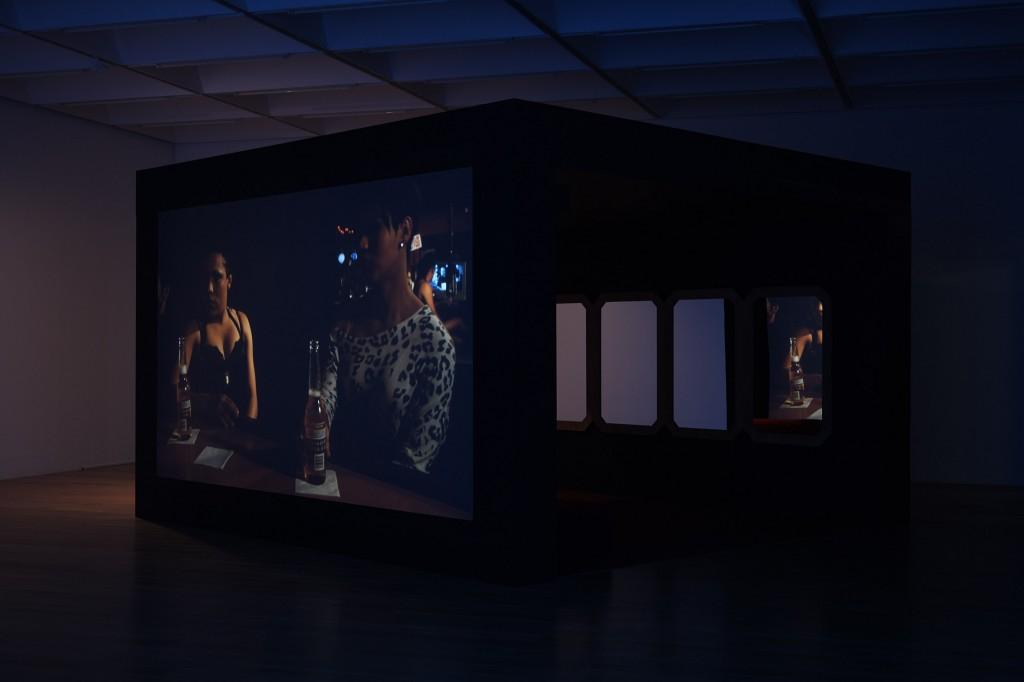 Wu Tsang, Devotional Document Part I, 2017.  Installation view, Nottingham Contemporary. 20.05.17 - 28.08.17  Photo Stuart Whipps.