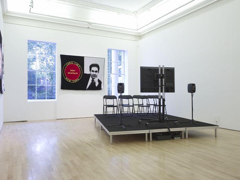 James Richards,Installation view, James Richards, ICA, London,  04.09.08–  11.09.08