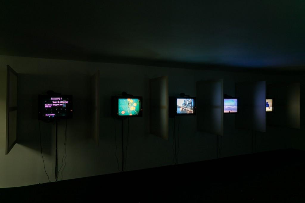 Installation view, Seth Price Circa 1981, Institute of Contemporary Arts, London, 04.11.17-07.01.18 Photo: Mark Blower
