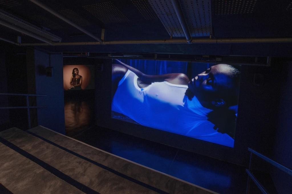 Installation view: Wu Tsang, Under Cinema at FACT, UK  26.10.2017 – 18.02.2018  Photo: Jon Barraclough