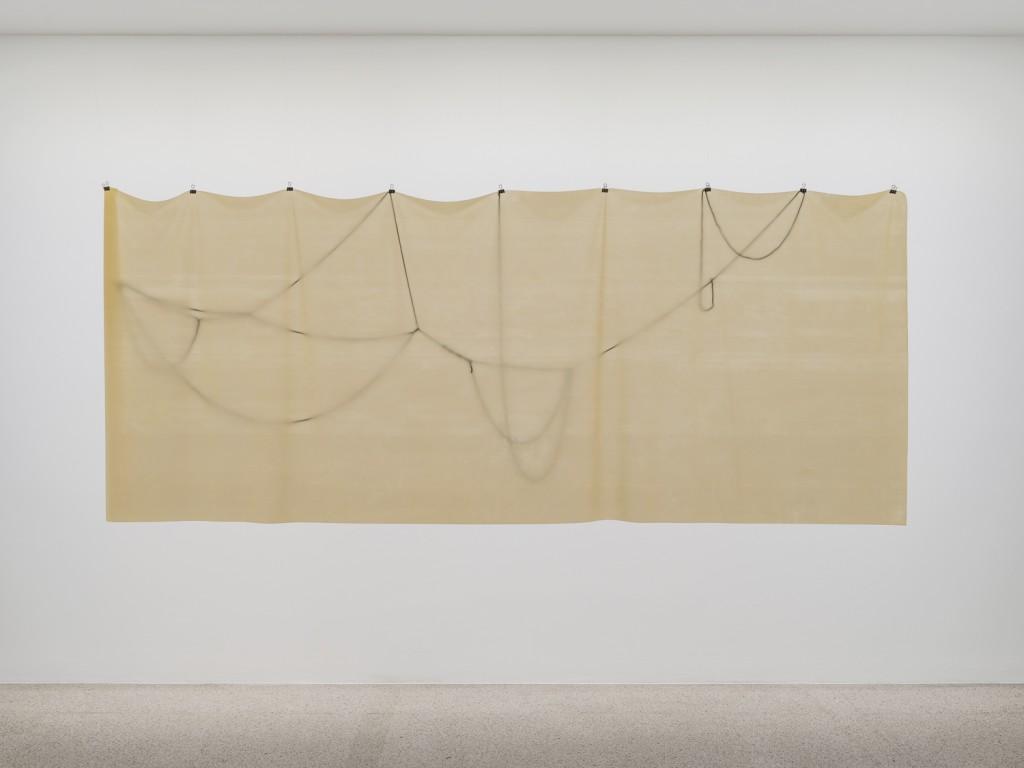 Installation view, Hannah Black, Small Room, mumok, Vienna, 2017