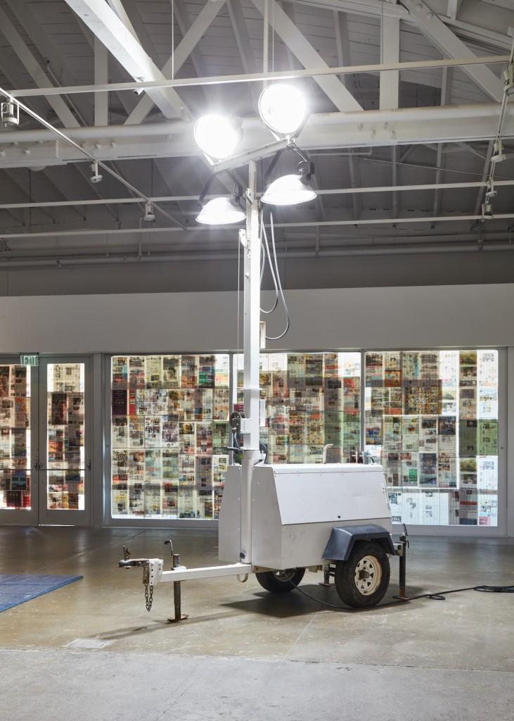 Installation view, Diamond Stingily,