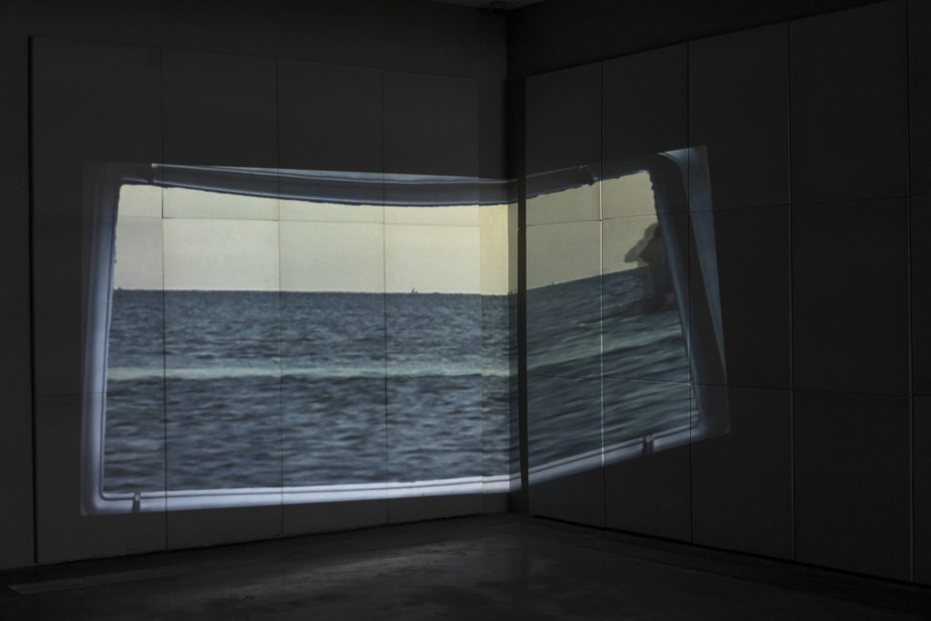 Installation view, Unknown Friend (Stephen G. Rhodes & Barry Johnston), Mario Merz Prize 3rd Edition The Finalists, Fondazione Merz, Turin, Italy, 2019. Photos: Renato Ghiazza.