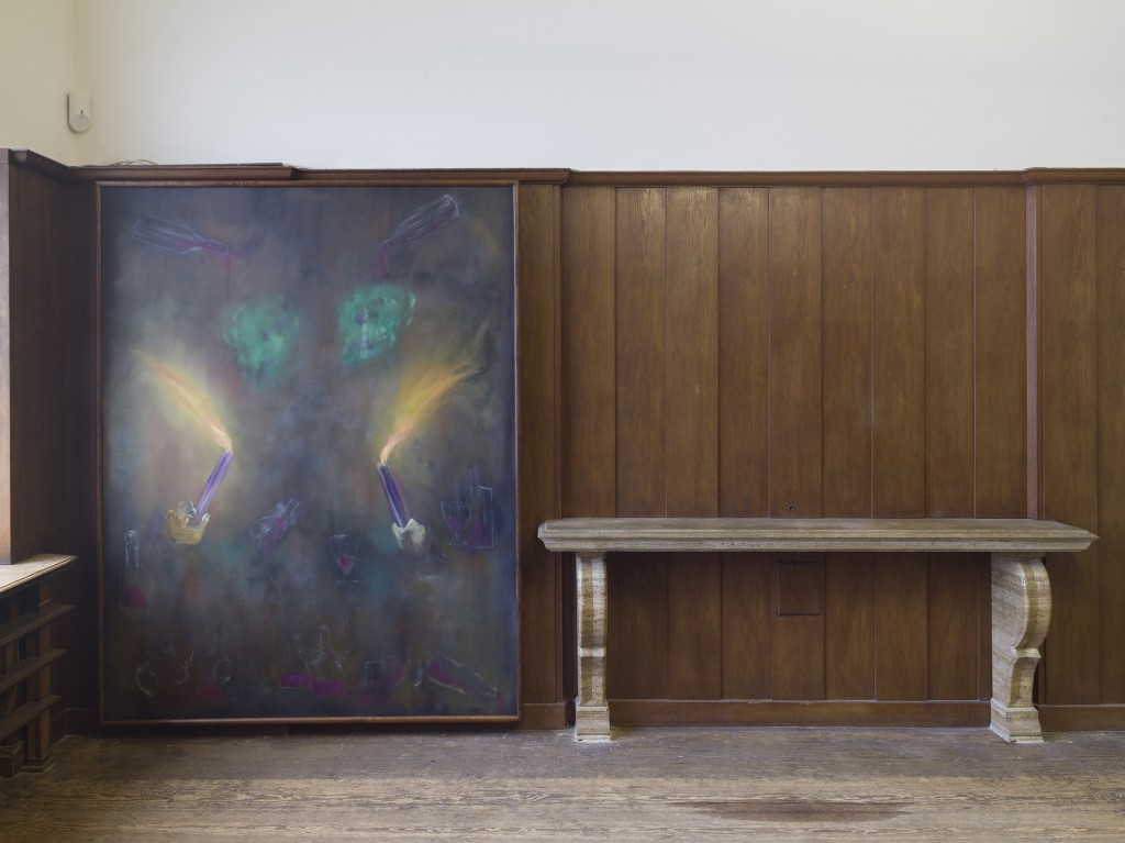 Installation view, SPÄTKAUFF, Galerie Isabella Bortolozzi, Berlin, 2019. Photos: Roman März.