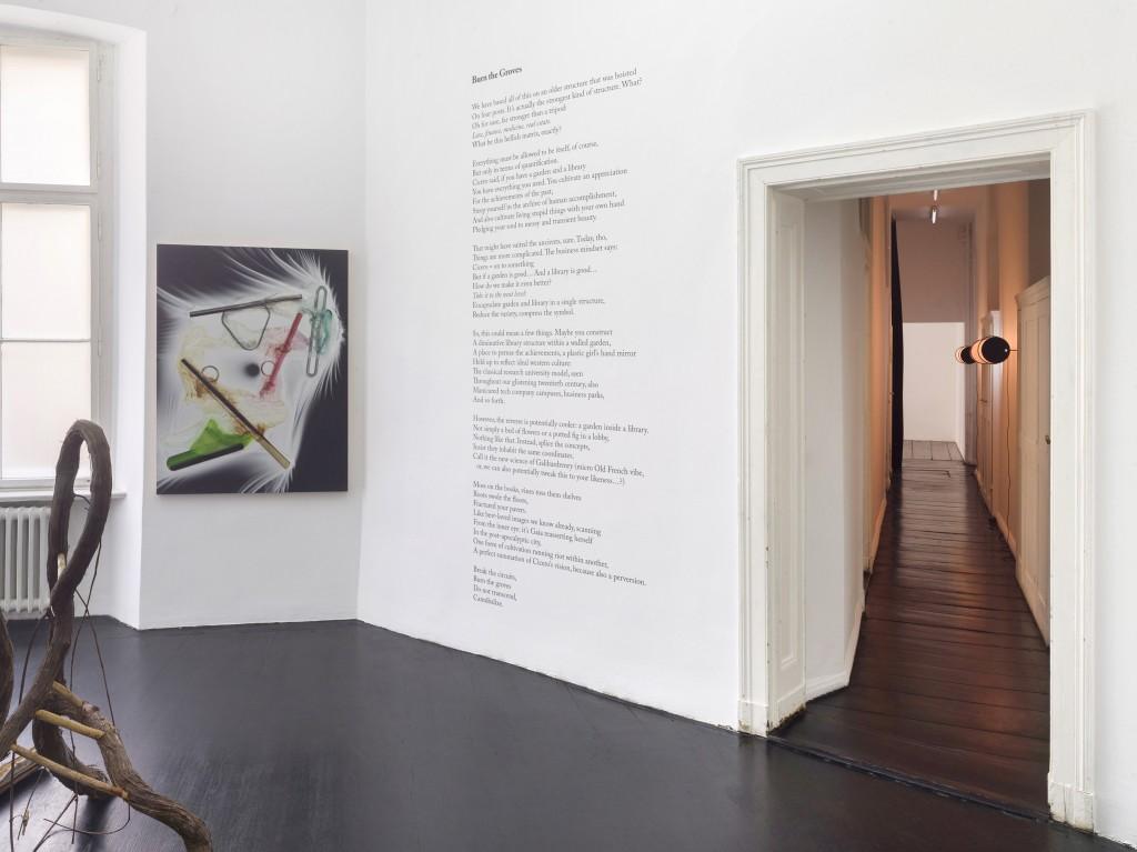 Installation view, Dedicated to Life, 2020. Galerie Isabella Bortolozzi, Berlin. Photos: Roman März.